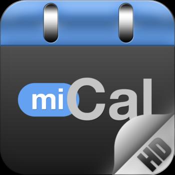 miCal HD - der Kalender für das iPad
