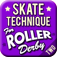 Skate Technique for Roller Derby 2